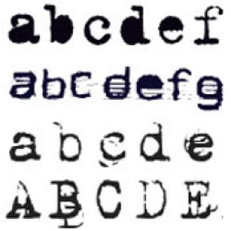 Broken Typewriter Font Mac